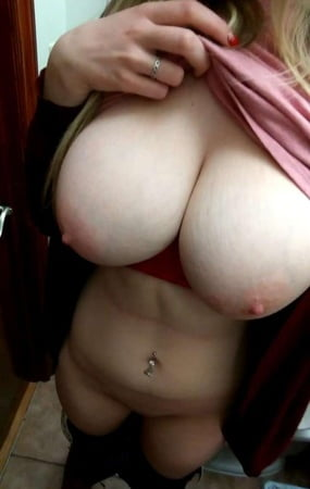 Busty Blonde Pawg photo 9
