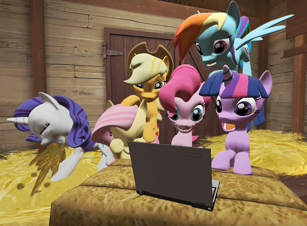 My Little Pony R34 Game photo 10