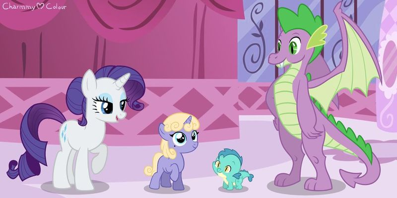 Rarity And Spike Have A Baby photo 11